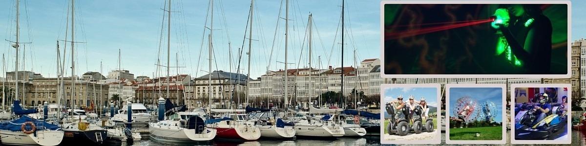 Aventuras y Actividades en Coruña